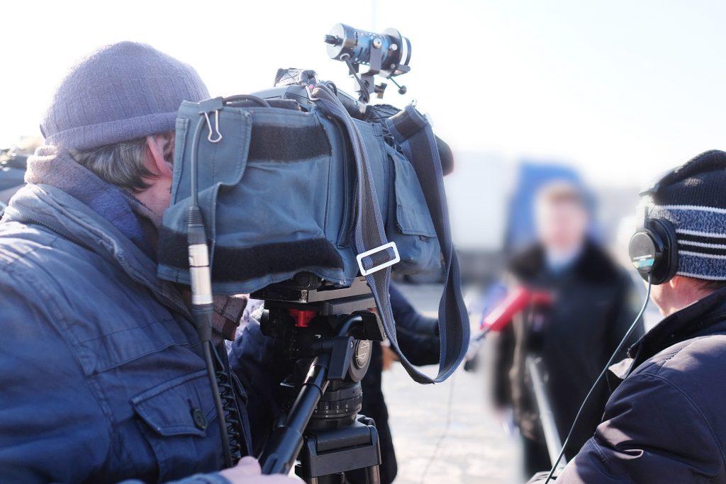 Medietrening foran TV-kamera og mikrofon er svært lærerikt