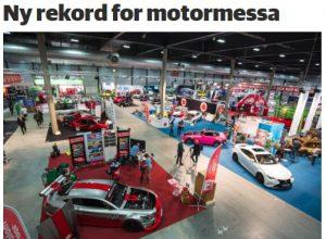 Rekordmye omtale for Oslo Motor SHow