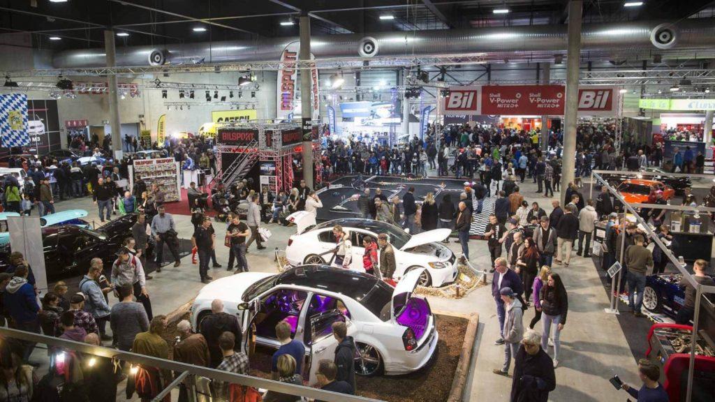 Oslo Motorshow med over 40.000 besøkende igjen