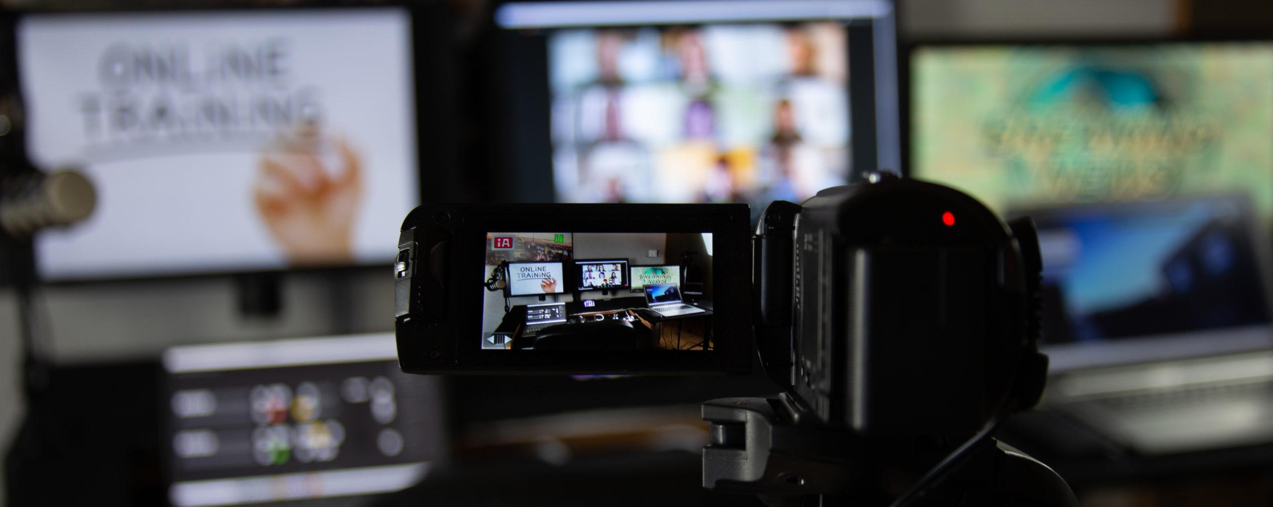 online streaming eller strømming av events kurs konserter møter webinarer og arrangmenter