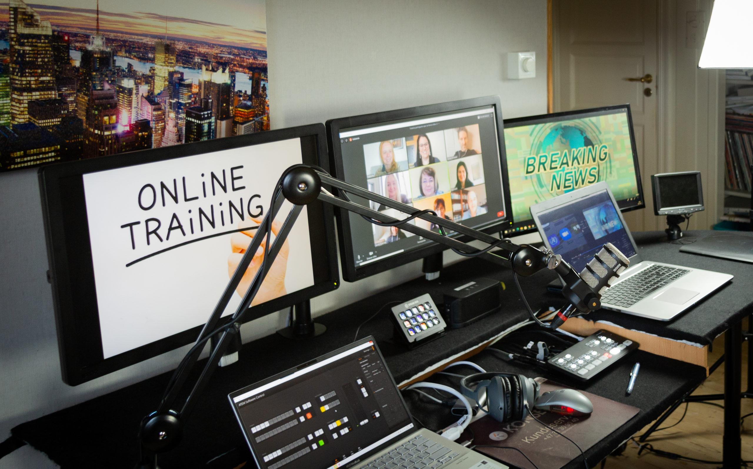 Når man streamer et arrangement på nett, vil deltakelsen blir høyere, kostnadene lavere og utbyttet blir det samme.